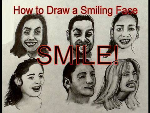 How to draw a realistic face female