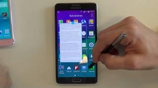 Samsung Galaxy Note 4: Toma de contacto [TEKNOFILO.COM]