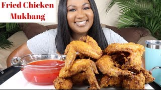 FRIED CHICKEN MUKBANG , SWEET AND SOUR SAUCE