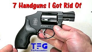 "7 Handguns I Was Happy to ""Get Rid"" Of - TheFireArmGuy"