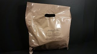 2018 British Single Meal Ration Pack MRE Review Meal Ready to Eat Taste Testing