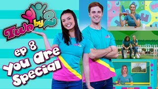 Bible TV show for kids! TWO BY 2 - EP 8 YOU ARE SPECIAL -  Songs & messages