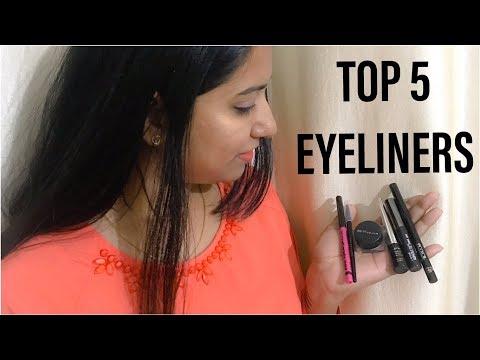 Top 5 Eyeliners Under Rs 500 in India | Best Eyeliners