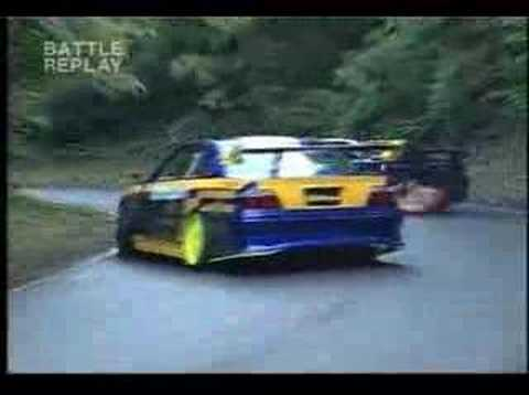 toyota jzx 100 vs b234r vs AE86..this was just a test by the 3 best drifters of japan.