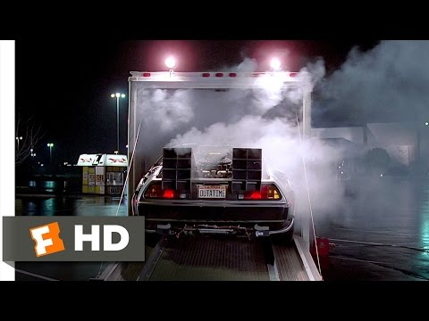 Back to the Future (1/10) Movie CLIP - Doc Brown Reveals the DeLorean (1985) HD