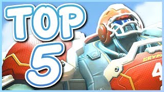 Overwatch - TOP 5 BEST REINHARDT SKINS