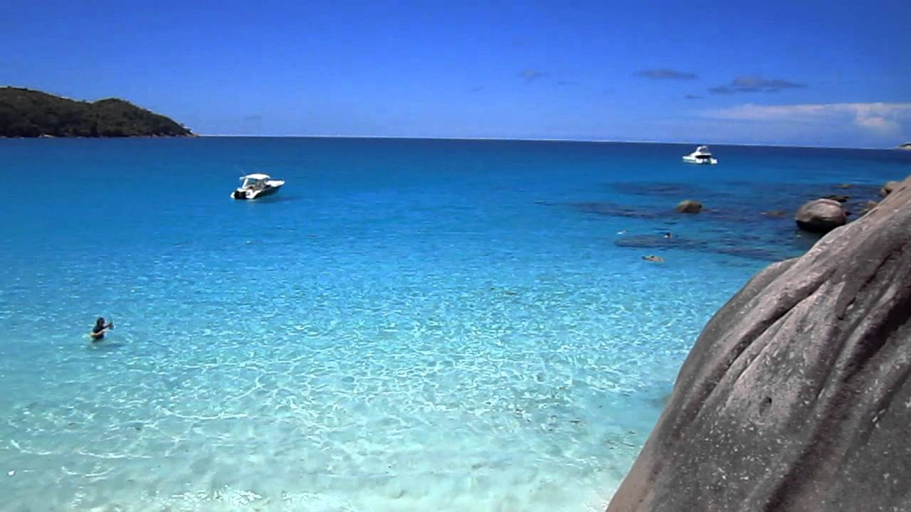 Anse Lazio Praslin The Seychelles Youtube