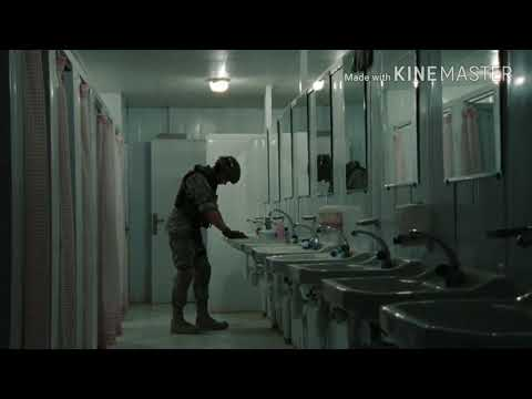 "Shower Scene From ""The Hurt Locker"" 2008"