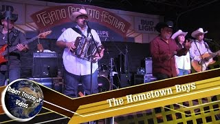 The Hometown Boys at the Tejano Conjunto Festival 2016