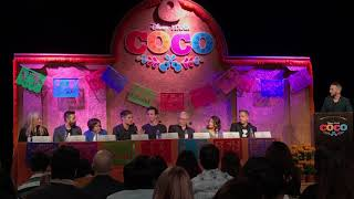 Cast & Crew of Disney/Pixar's Coco talk about making the animated film