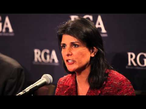 SC Gov. Nikki Haley at RGA News Conference