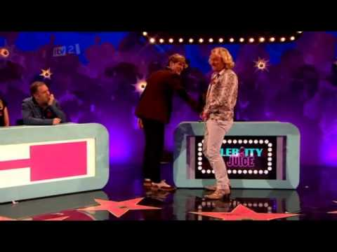 Dougie Poynter & Tom Fletcher on Celebrity Juice [Nov. 8,2012]