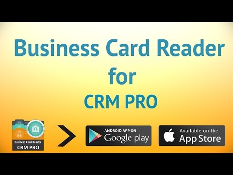 Business Card Reader - CRM Pro Business app for Android Preview 1