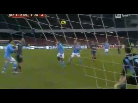 INCREDIBILE GOL DI KONE IN NAPOLI-BOLOGNA 19/12/12
