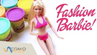 ¡Barbie va a la playa! Barbie bikinis en español