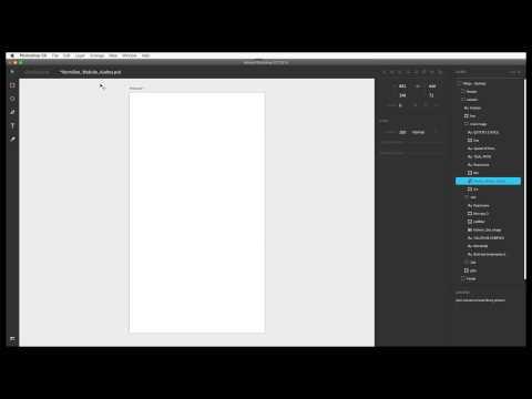 Adobe Photoshop Design Space