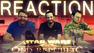 Star Wars The Old Republic Sacrifice REACTION Cinematic Trailer