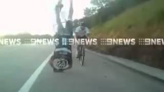 VIDEOZAPPI: Caduta Bicicletta Incidenti Sportivi