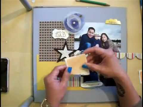 Beginning Scrapbooking - Scrapbooking Family Photos **SCRAPPING WITH MUSIC SERIES Video 1**
