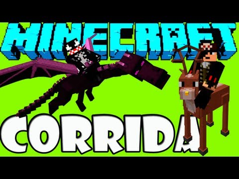 3d Game | MINECRAFT Corrida Voadora Dragões e Pegasus | MINECRAFT Corrida Voadora Dragoes e Pegasus