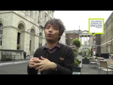 The London School of English student testimonials - Chen-ta Sung from Taiwan