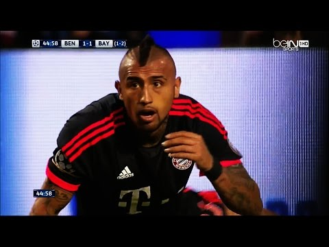 Arturo Vidal vs Benfica - Individual Highlights 13/04/2016 HD 720p by BPLboy