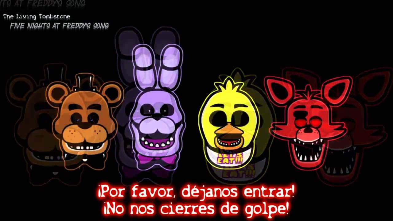 Five nights at freddy s song espa 241 ol youtube