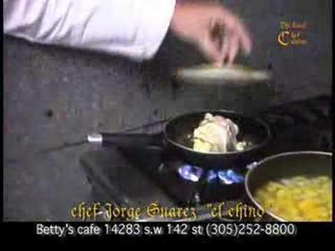chino jorge suarez haciendo una receta de cocina parte 3