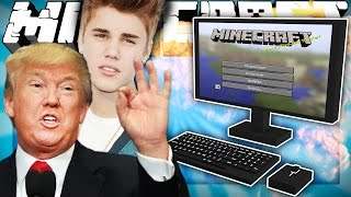 If Famous People Played Minecraft