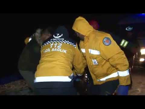 Otobüs Şarampole Devrildi: 32 Yaralı