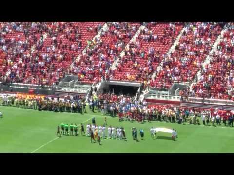 ManU vs FC Barcelona Levis Stadium,CA, USA 07/25/2015 starting lineup
