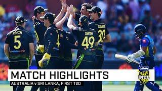 Aus vs Sri  1st T20I