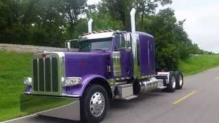 Walk Around of New Peterbilt Flattop Cowboy Express from Matt Summerlin