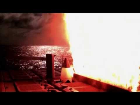 USS Lake Erie Launches Interceptor Missile