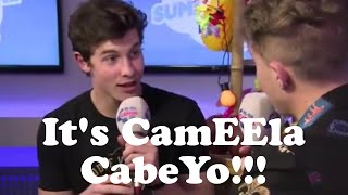 Download Lagu Shawn Mendes correcting interviewers how to say Camila Cabello's name! Gratis STAFABAND