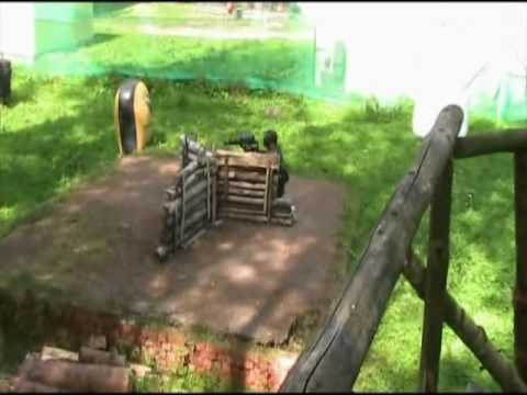 Paintball Match - im Gotchaforest Suhl - Woodland -