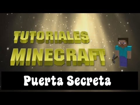 Tutorial Minecraft - Puerta Secreta