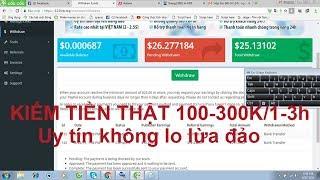 P1:Hướng dẫn kiếm tiền thật: 100-300k/1-3h uy tín, không lo lừa đảo với 123link