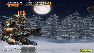 [PSP]Metal Slug XX Hard Mode Speed Run 17min 59sec