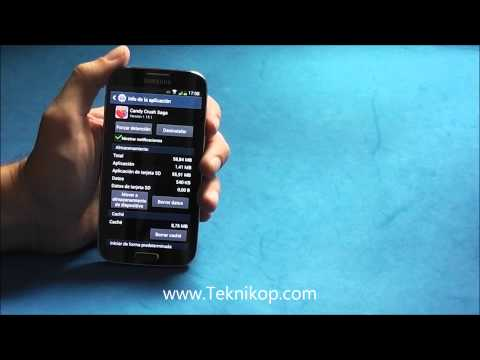 Mover Aplicaciones  a la tarjeta SD Samsung Galaxy S4