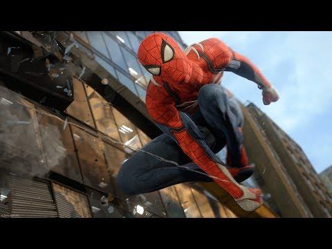 Spider-Man 2018  ПРОСТО БОМБА А НЕ ИГРА PS4 (геймплей с комментариями E3 2017)