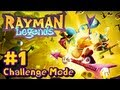 Rayman Legends Wii U - Challenge Mode App - Part 1