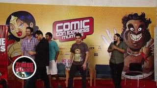 Launch of Zombie Talkies_ Blood Fest in Bollywood   at Comic Con Express Mumbai 2011