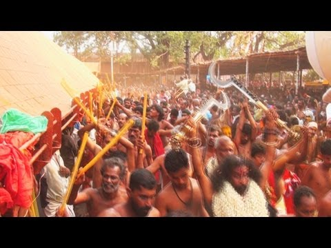 The Kavutheendal ceremony of Kodungallur, Thrissur