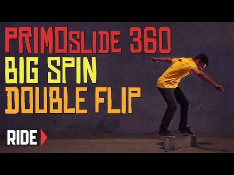 Skateboarding in Slow Motion: Kilian Martin - Primoslide 360 Bigspin Double Flip