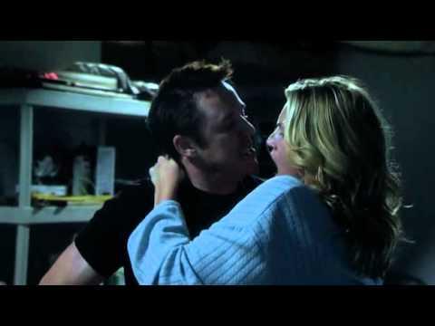 Natasha Henstridge making out in garage