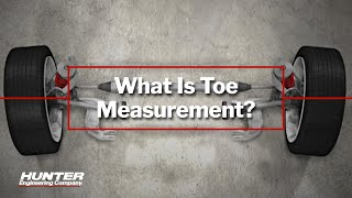 What is Toe Measurement? An Explanation from Hunter Engineering
