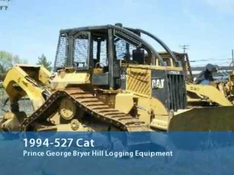 *logging machines for sale pr geo bc*