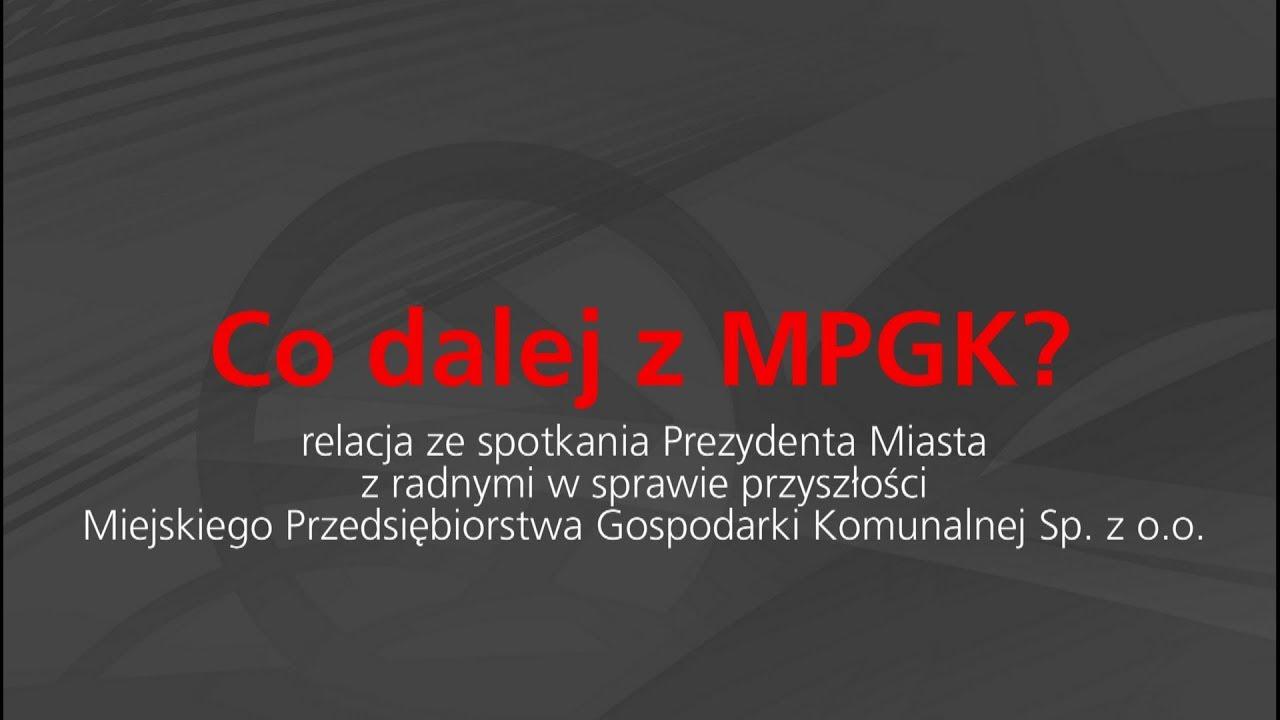 Co dalej z MPGK?