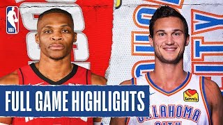 ROCKETS at THUNDER | FULL GAME HIGHLIGHTS | January 9, 2020